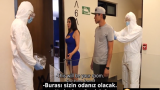İzole Edilen Kadına Karantina Bitene Kadar Pompa
