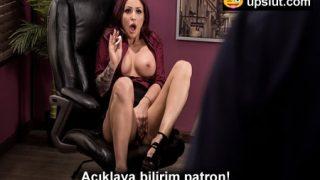 Ofiste Orgazm Olurken Patrona Yakalanan Sekreter